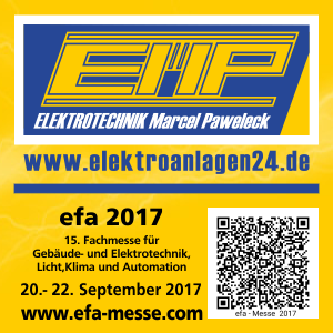 efa Messe 20. bis 22. September 2017
