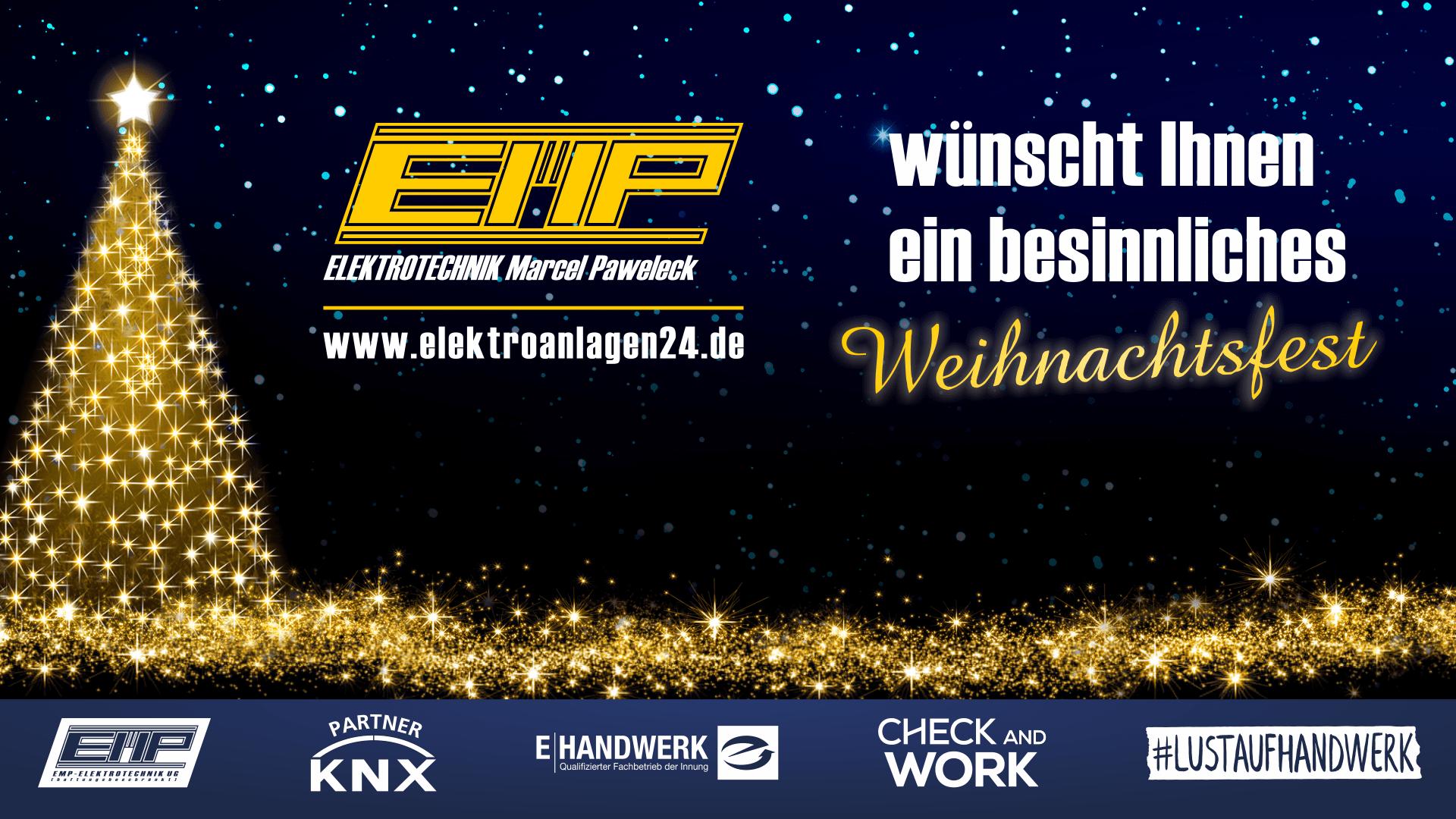Wir wünschen Ihnen ein entspanntes, frohes und besinnliches Weihnachtsfest ... www.elektroanlagen24.de
